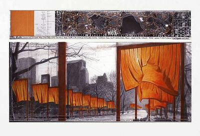 Christo, 'The Gates (b)', 2003