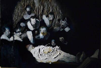 Luis Gomez, 'Rembrandt series- Anatomy Lesson', 2018