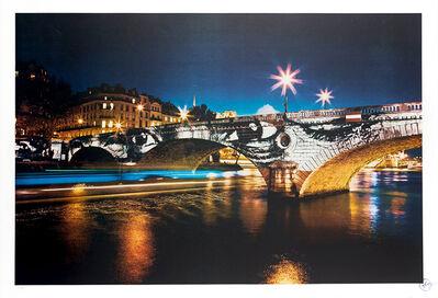 JR, 'Exhibition in Paris - Pont Louis-Philippe', 2009