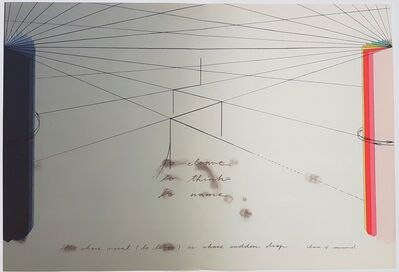 Shusaku Arakawa, 'Abstract Geometric Composition', 1977