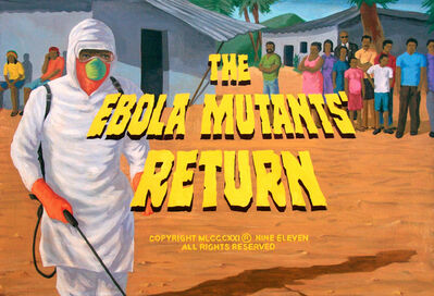 Franco Vico, ' THE EBOLA MUTANTS´RETURN', 2016