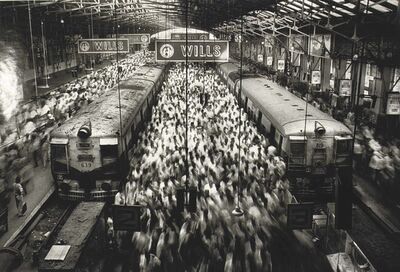 Sebastião Salgado, 'Churchgate Station, Bombay, India', 1995