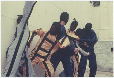 Martha Araújo, 'Photographic documentation of the performance Hábito/Habitante', 1987