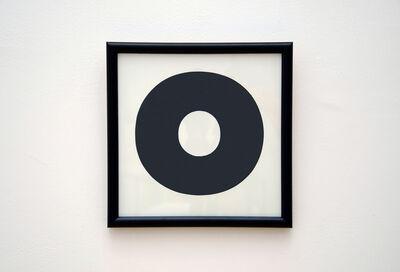 Julian Dashper, 'Untitled (O)', 1992