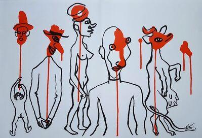 Alexander Calder, 'Derrière le Miroir No. 156 (Circus 4 - Les Gueules Degoulinantes)', 1966