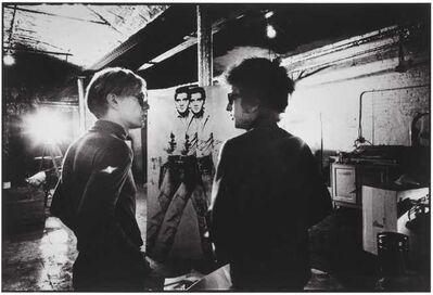 Nat Finkelstein, 'Dylan, Warhol, and Elvis', 1965