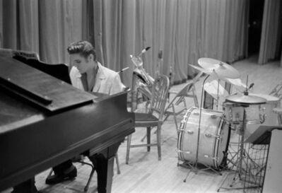 Phillip Harrington, 'Elvis Presley At The Piano', 1956