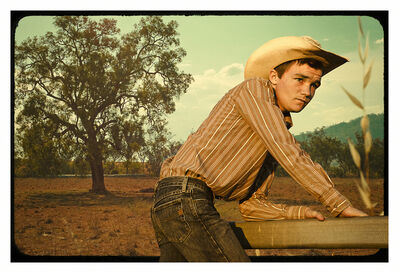 Claire Letitia Reynolds, 'Gone Hollywood, Gone Cowboy (Wistful)'