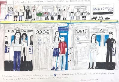Michael Pellew, 'MTA New York City Transit Celebrities', 2018