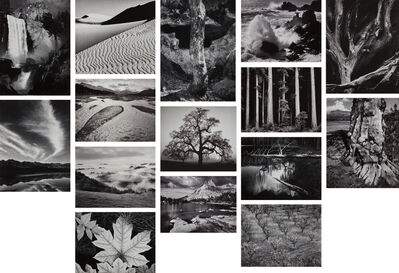 Ansel Adams, 'Portfolio Four: What Majestic Word. In Memory of Russell Varian', 1963