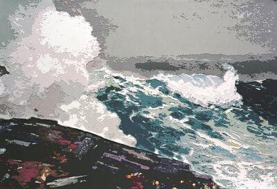 Vik Muniz, 'Northeaster, after Winslow Homer  (Pictures of Paper)', 2010