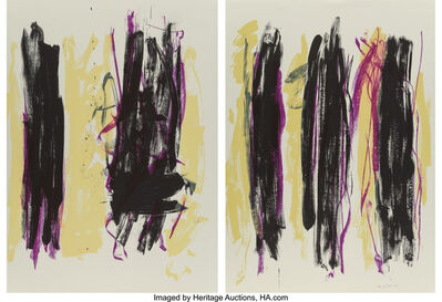 Joan Mitchell, 'Trees III, diptych', 1992