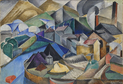 Marie Vassilieff, 'Spanish Landscape', ca. 1913