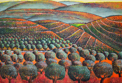 Nabil Anani, 'Olives from West Ramallah', 2013