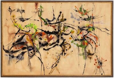 """lawrence kupferman, 'Abstract Expressionist Painting 1959 """"Aspects Of Spring 2""""', 1950-1959"""