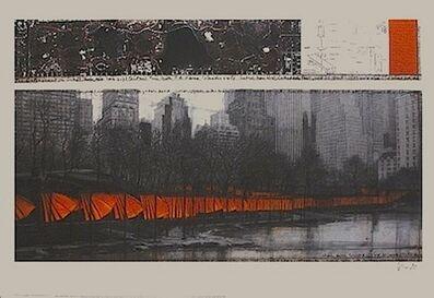 Christo, 'Gates Large (18380)', 2004