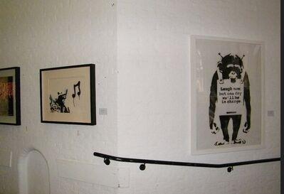 """Banksy, '""""Laugh Now"""" 2001 unique work.', 2001"""
