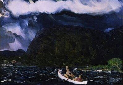 George Wesley Bellows, 'In a Rowboat', 1916