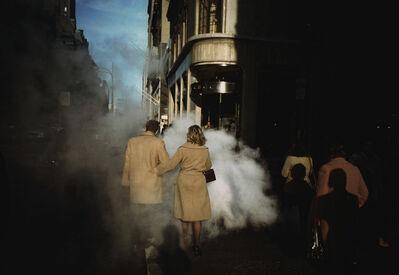 """Joel Meyerowitz, '""""Camel Coats"""", New York City', 1975"""