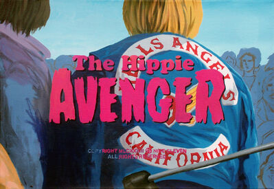 Franco Vico, 'THE HIPPIE AVENGER', 2016