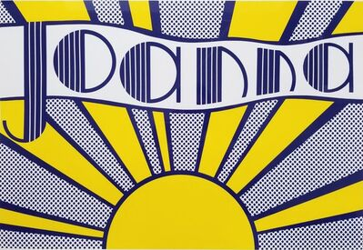 Roy Lichtenstein, 'Joanna', 1968