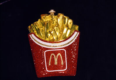 Lauren Greenfield, 'Limited-edition, Swarovski crystal–encrusted McDonald's fries purse by Kathrine Baumann, Beverly Hills', 1996