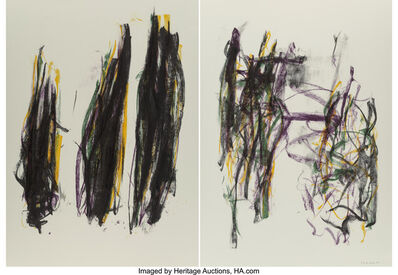 Joan Mitchell, 'Trees II, diptych', 1992