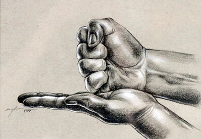 Amy Lee Lummus, 'Let's Play Rock, Paper, Scissors, You Lose, You Die, You Win, You Die', 2018