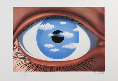 René Magritte, 'Le Faux Miroir (The False Mirror)', 2010
