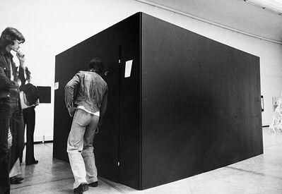 Franco Vaccari, 'I sogni, spazio privato in spazio pubblico', 1975