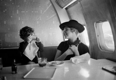 Lawrence Schiller, ''Pan Am Airlines, Atlantic 1969' from the portfolio 'Ten portraits of Barbra Streisand'', 1969