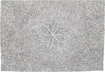 Ruth Asawa, 'Untitled (SD.085, Sculpture Drawing: Tied wire with 8 branches)', ca.1970