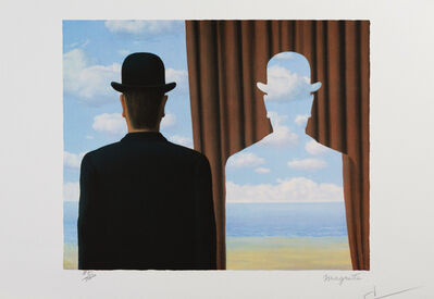 René Magritte, 'Décalcomanie (Decalcomania)', 2010