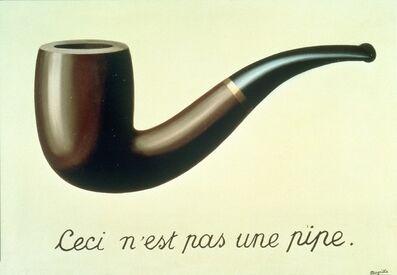 René Magritte, 'La Trahison des images (Ceci n'est pas une pipe)', 1929
