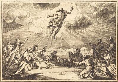 after Sébastien Le Clerc I, 'The Ascension'