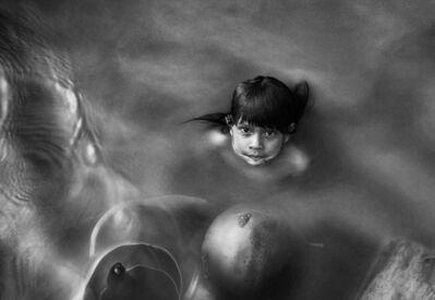 Araquém Alcântara, 'Brasileiros, Child with pans, Sao Gabriel da Cachoeira', 2004