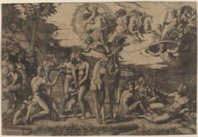 Marcantonio Raimondi after Raphael, 'The Judgment of Paris'