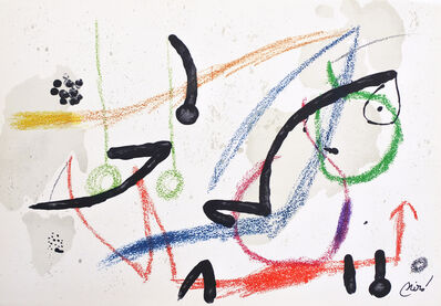 Joan Miró, 'Maravilla 7', 1975