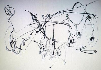 Hann Trier, 'Ins Wasser springen', 1954