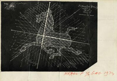 Paul Neagu, 'The flying horse ', 1973