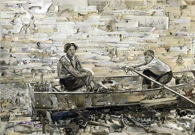 Vik Muniz, 'Boating (Series from Album)', 2014