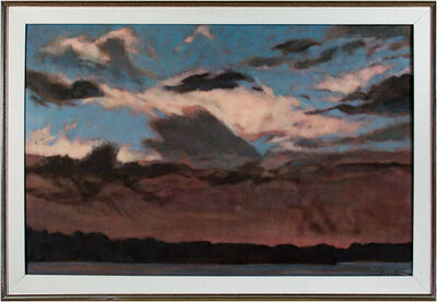 Howard Schroedter, 'Clouds Over Hatch Lake', 1988