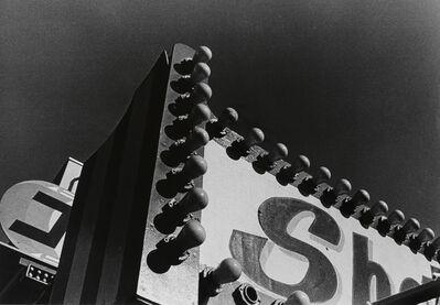 Daido Moriyama, 'Electric Light Board, Taito-ku, Tokyo', 1990