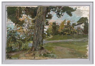 Stanley Lewis, 'Tree and Houses, Lake Chautauqua', 2015