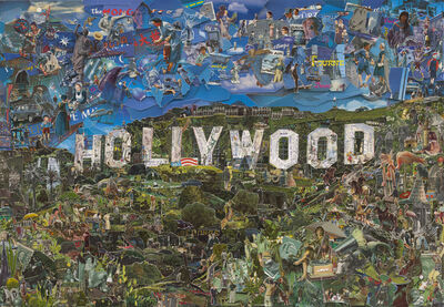 Vik Muniz, 'Postcards from Nowhere: Hollywood', 2014