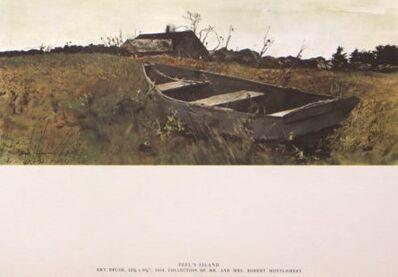 Andrew Wyeth, 'Teel's Island'