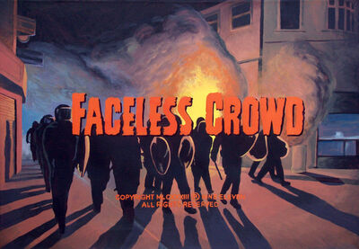 Franco Vico, ' FACELESS CROWD ', 2016