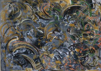 Mahmood Sabzi, 'Abstract  Yellow & Gray', 2017