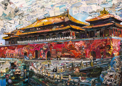 Vik Muniz, 'Postcards from Nowhere: Forbidden City', 2014