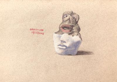 Abraham González Pacheco, 'Dibujo 34b, de la serie Yacimiento 34 / Drawing 34b, of the series Yacimiento 34', 2018